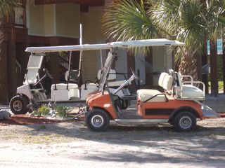 North Captiva Island house photo - Golf Cart's
