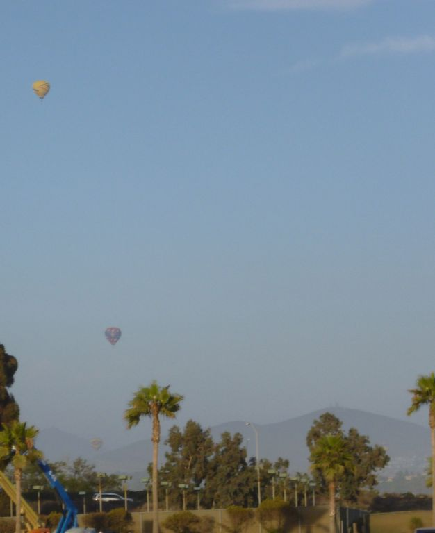 Ballooning in the near area