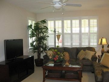 Princeville condo rental - Living room