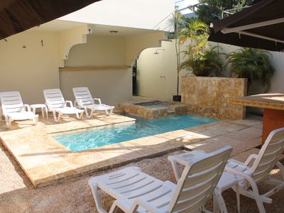 5BR/4BA House w/Pool walking distance to the beach