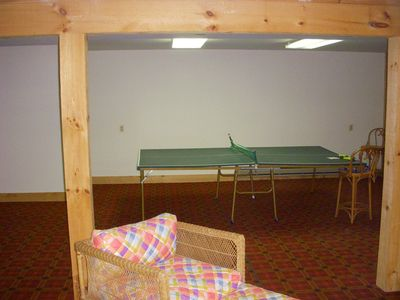Stratton Mountain house rental - Basement