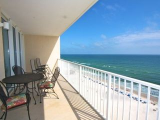Gulf Shores condo photo - Beautiful views from the balcony!