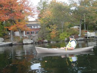 Dedham cottage photo - Kayaking on the lake