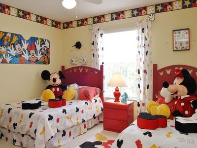 Themed bedroom for the children