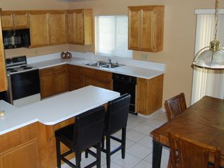 Palm Desert house photo - Large Kitchen with new microwave and dishwasher
