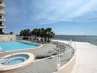 Beautiful Beachfront Condo, Covered Parking, Large 2 Bed/2 Bath