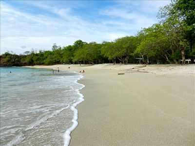 Beautiful Playa Conchal (shell beach) short drive from CoCo, 45 min day trip.