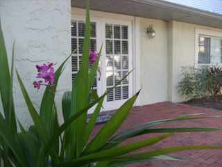 Inviting french door entry - Siesta Key house vacation rental photo