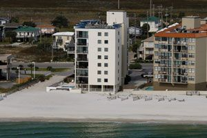 Gulf Shores condo photo - 5th floor unit takes the entire south side of the bulding!