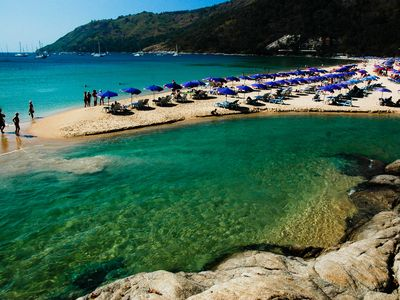 Nai Harn Beach and natural pool