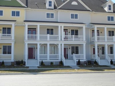 Outside-Fenwick Island, DE Vacation Townhome Rental