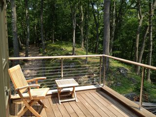Bedford house photo - Enjoy morning coffee on the Juliet balcony off the master suite