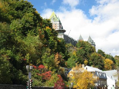 Quebec City's autumn foliage