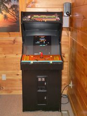 Gatlinburg cabin photo - Pac-man / Frogger / Donkey Kong 60 Arcade Game in 1 Machine