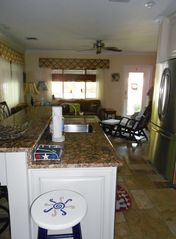 Key West house photo - kitchen island