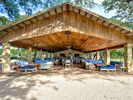 Pavilion - The party pavilion is perfect for birthdays or special occasions.