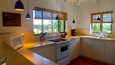 "North Caicos villa rental - The "" Cordon Bleu"" favorite place..."