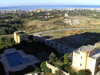 Alanya apartment photo - Little swimming pool with city and sea view