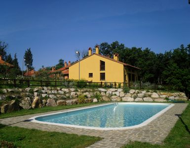 Hibiscus, residence, in the countryside near  San Gimignano, wonderful Tuscany