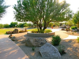 Scottsdale house photo - Troon Park with Grass, children Playa area, Basketball court and Tennis courts