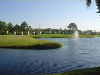 View of par-3 golf course. Golf reservations made in Pro Shop in the Club House.