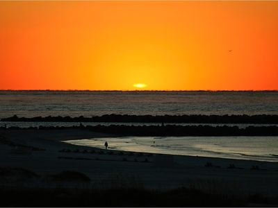 Beautiful Sunrises over Perdido Pass