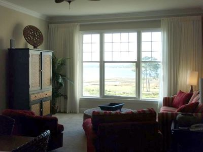 Delwood Beach condo rental - Family room