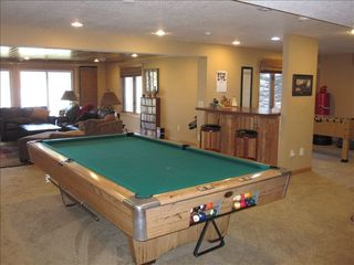 Amery house photo - Lower level family room