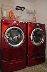 LG Steam washer and dryer for your swimsuits and clothes