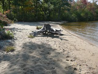 Ossipee Lake house photo - Beach end of Long Sands at Channel