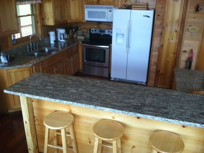 """Kitchen, With Granite Tops"""