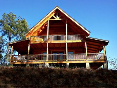 The Cypress Cabin - Solid Wood Log Cabin with Awesome Views!