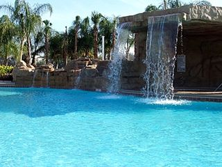 Paradise Palms townhome photo - Resort Pool Water Fall