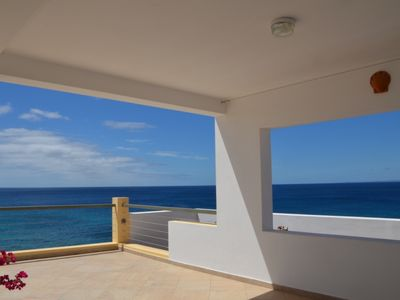 On the island of Maio detached villa with panoramic sea view terraces
