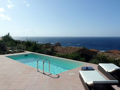 Villa Tramonto, private swimming pool, 250 meters from the sea, pool open March to November