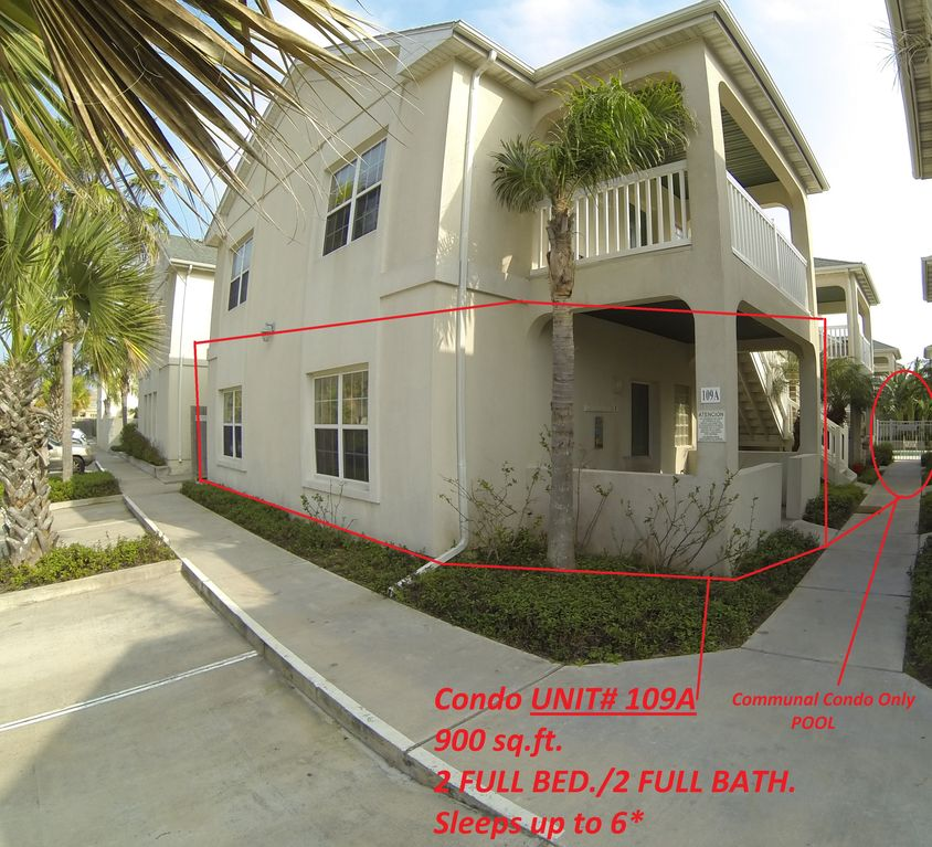 SOUTH PADRE ISLAND Beach Condo/ Pool, Cable,...