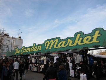 The world famous Camden street market