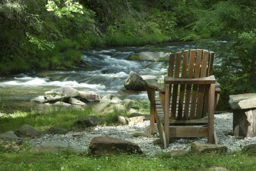 Relax by the River in one of our Comfortable Chairs