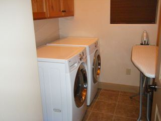 St. George house photo - Laundry room equipped with front-loader washer/dryer!
