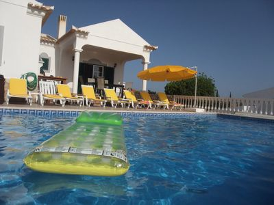 Luxury Villa with private pool, air conditioning, Wifi, pool table  11942/AL
