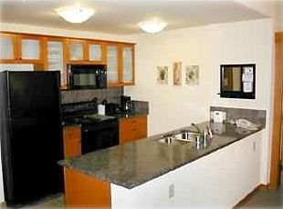 Kitchen - granite counters, micro, oven, cooktop