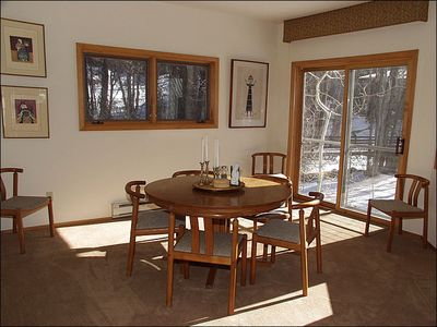 Dining Area with seating for 9