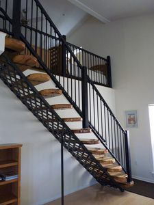 Beautiful staircase to the second floor