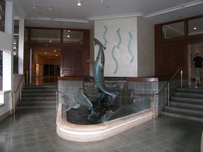 Entrance to the building !