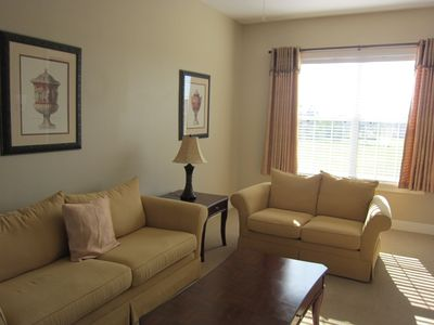 Comfortable Living room #2 in in-law suite, 46' LCD TV