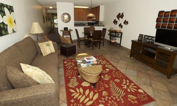 Kihei condo rental - Living room