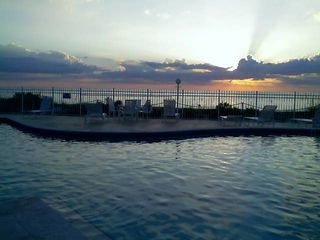 Bonita Springs condo photo - Pool over looking the Gulf
