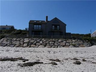 East Sandwich cottage photo - View from the beach
