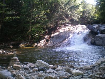 Pike's Falls, one of the best of the innumerable swimming holes