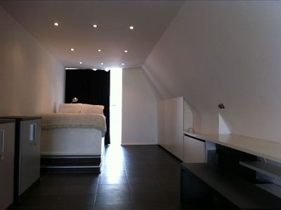 Loft space with double bed